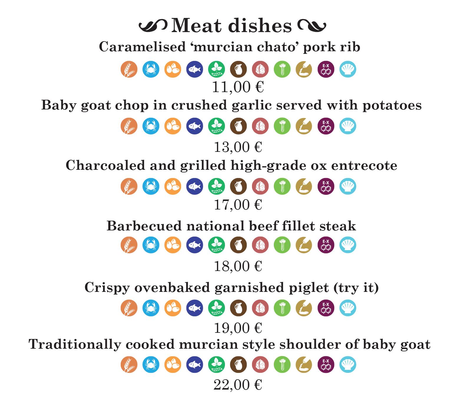 Carta-meat-dishes-english-de-comedor-meson-de-pepe-murcia